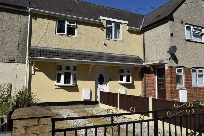 2 Bedrooms House for sale in Park Lane West, Tipton, West Midlands, DY4