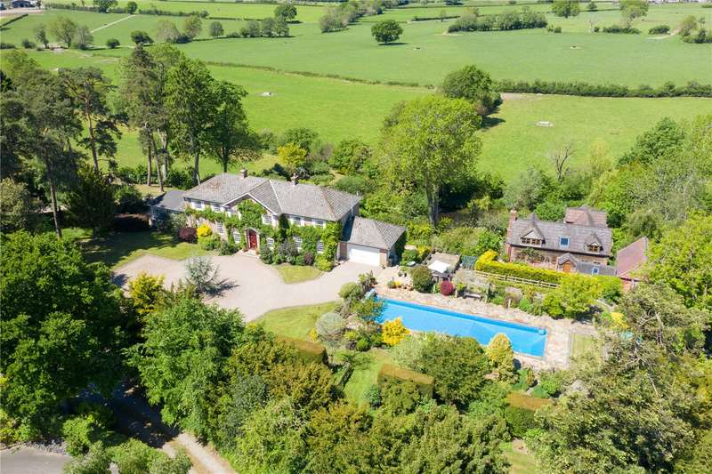 4 Bedrooms Detached House for sale in Rushbury Court, Rushbury, Church Stretton, Shropshire, SY6