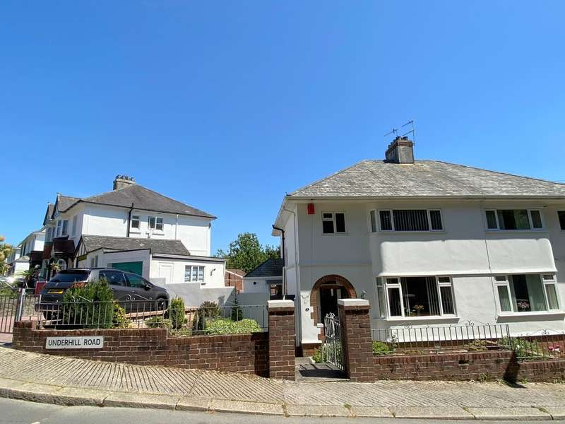 3 Bedrooms Semi Detached House for sale in Underhill Road, Stoke, Plymouth, PL3 4BP