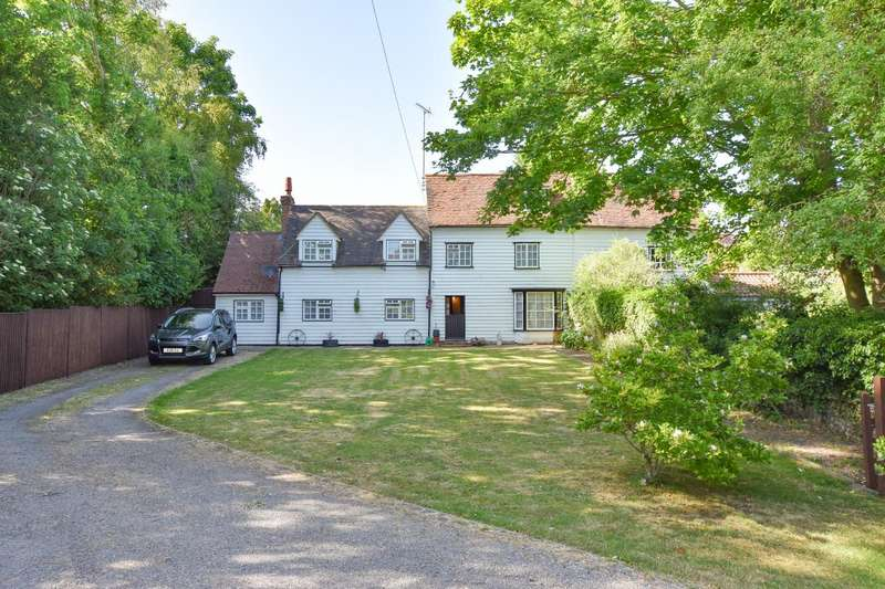 4 Bedrooms Semi Detached House for sale in Copthall Lane, Thaxted, Dunmow