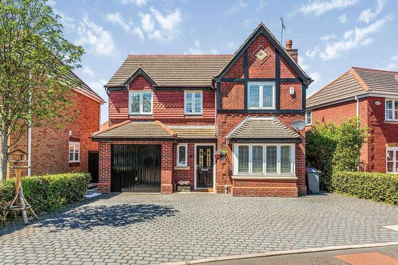 4 Bedrooms Detached House for sale in Avery Gardens, Poulton-Le-Fylde, Lancashire, FY6