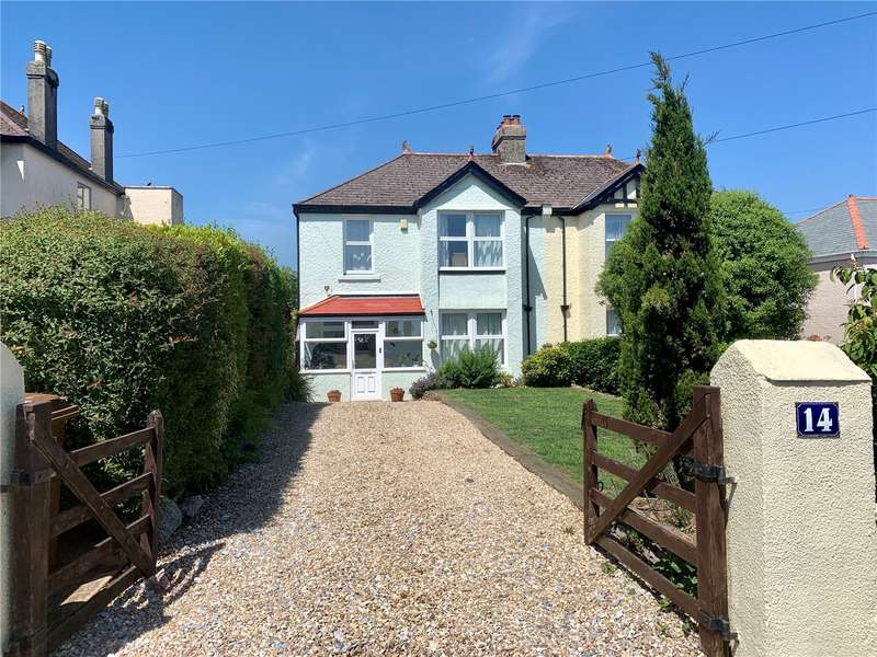 4 Bedrooms Semi Detached House for sale in Townstal Pathfields, Dartmouth, TQ6