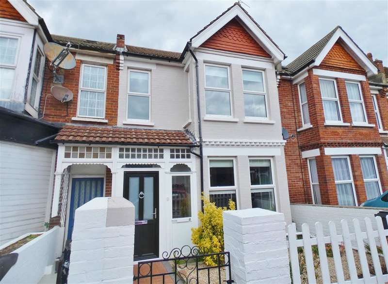 4 Bedrooms Terraced House for sale in Whitley Road, Eastbourne