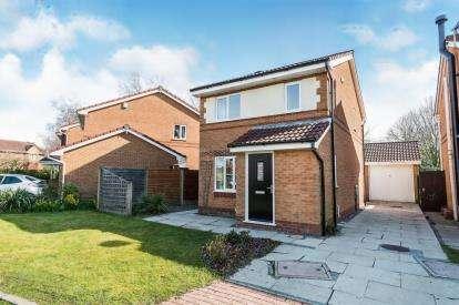 3 Bedrooms Detached House for sale in Mossbrook Drive, Cottam, Preston, Lancashire, PR4