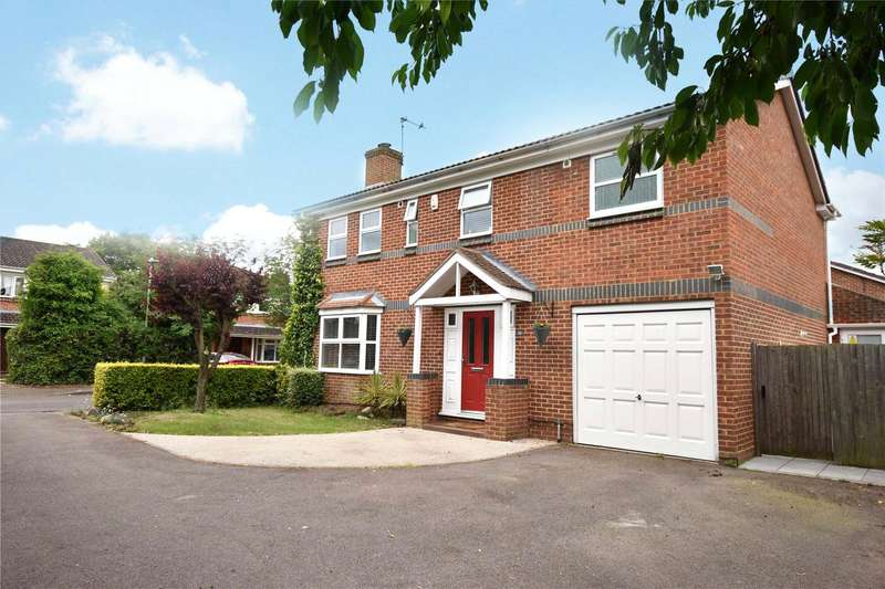4 Bedrooms Detached House for sale in Beedon Drive, Easthampstead Grange, Bracknell, Berkshire, RG12