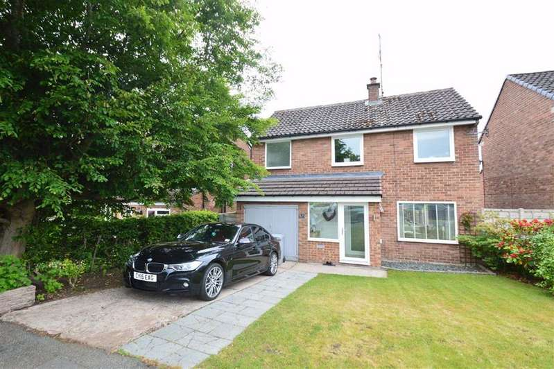 3 Bedrooms Detached House for sale in Tytherington Drive, Macclesfield