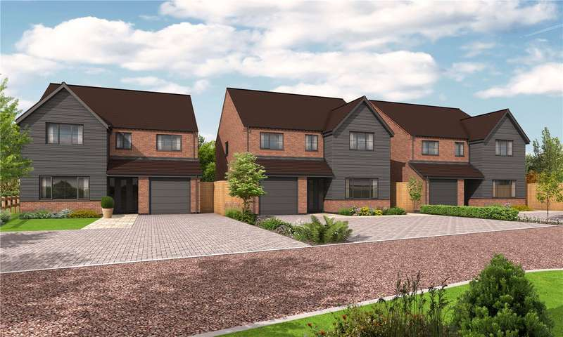 4 Bedrooms Detached House for sale in Kidderminster Road, Cutnall Green, Droitwich, Worcestershire
