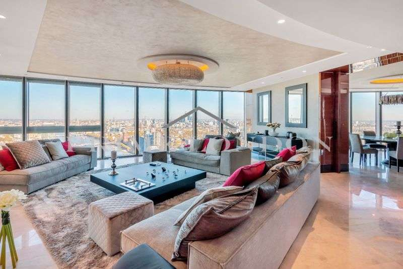 3 Bedrooms Property for sale in The Tower, One St George Wharf, London