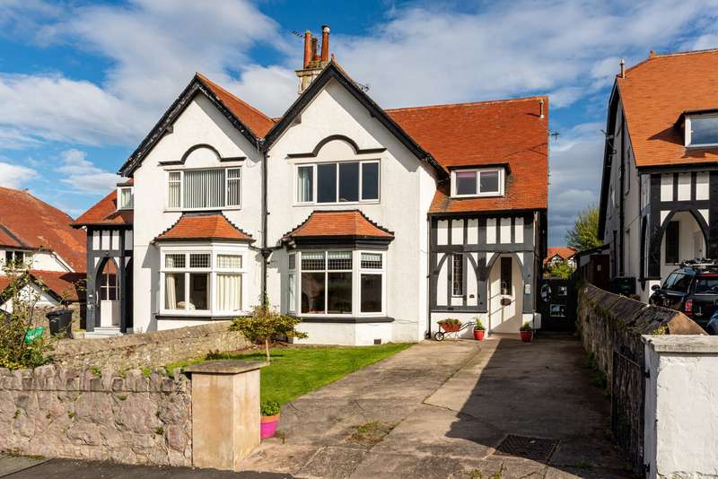 5 Bedrooms Semi Detached House for sale in Roumania Crescent, Craig Y Don, Llandudno, LL30