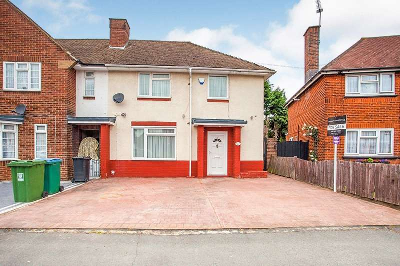 3 Bedrooms End Of Terrace House for sale in Ross Crescent, Watford, Hertfordshire, WD25