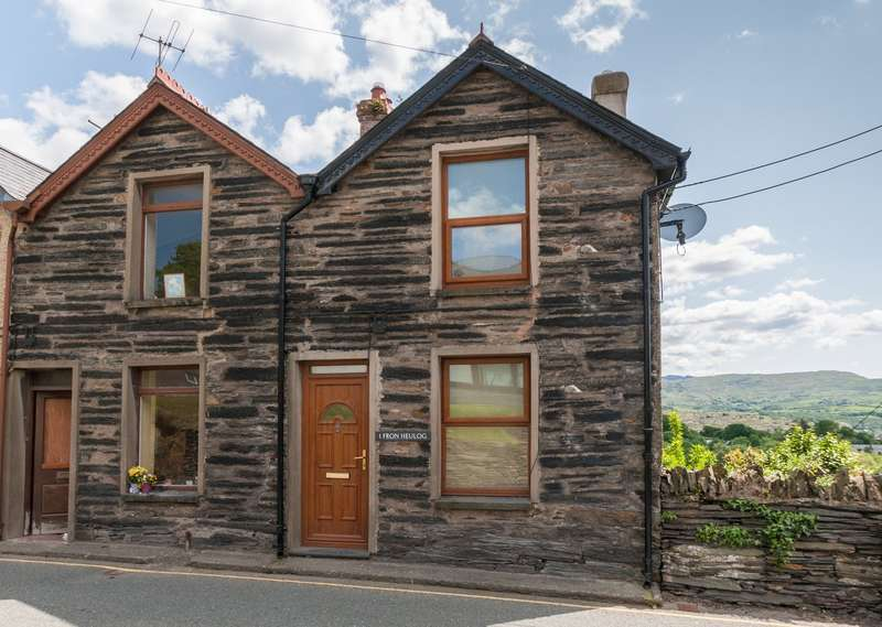 3 Bedrooms End Of Terrace House for sale in Fron Heulog, Penrhyndeudraeth, Merionethshire, LL48