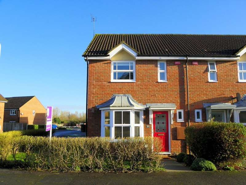 2 Bedrooms Semi Detached House for rent in East Park Farm Drive, Charvil, Reading, RG10