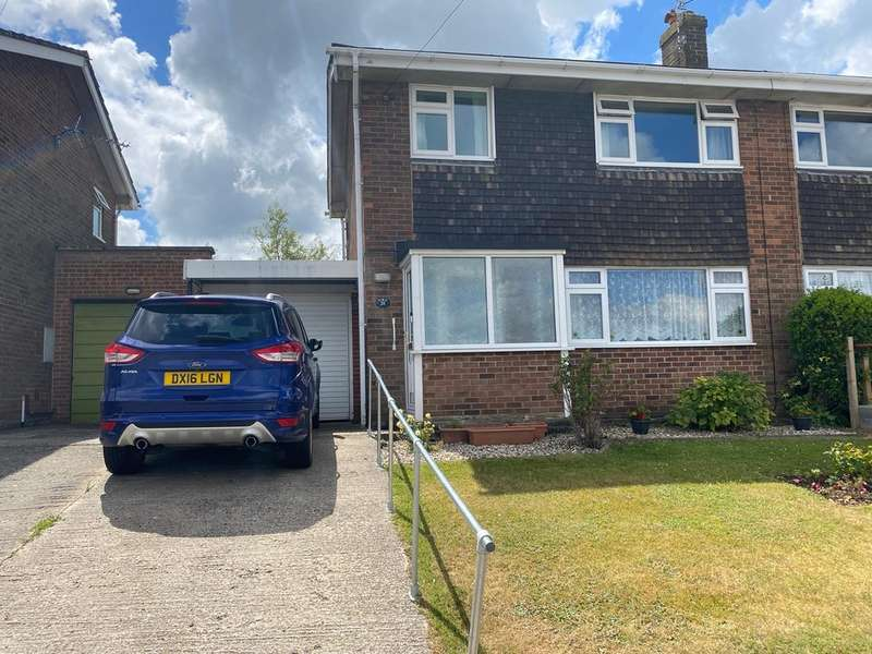 3 Bedrooms Semi Detached House for sale in Reservoir Close, Stroud