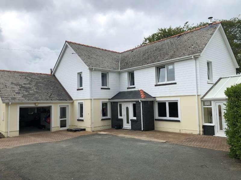 4 Bedrooms Detached House for sale in Ty Morwydden, Crymych, Pembrokeshire