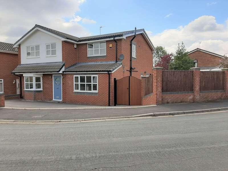 4 Bedrooms Detached House for sale in Ashfield Crescent, Billinge, Lancashire, WN5