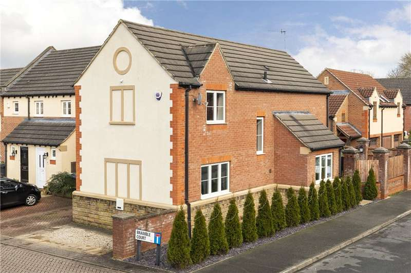 4 Bedrooms Link Detached House for sale in Bramble Court, Pool in Wharfedale, Otley