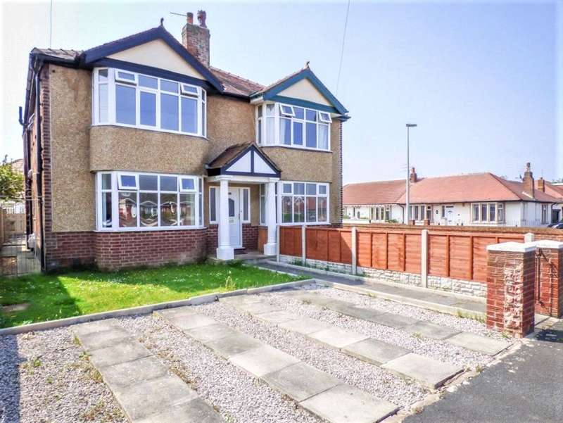 3 Bedrooms Semi Detached House for sale in Guildford Avenue, Bispham, Blackpool