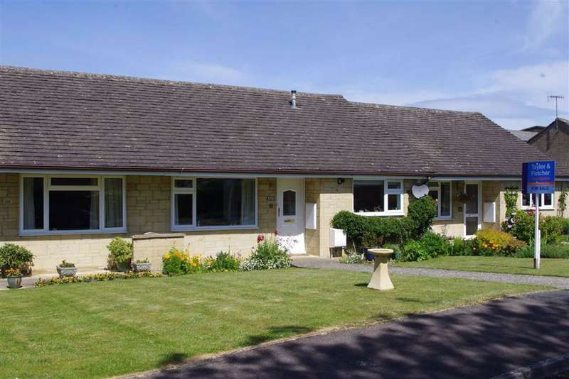 2 Bedrooms Terraced Bungalow for sale in Roman Way, Bourton-on-the-Water, Gloucestershire