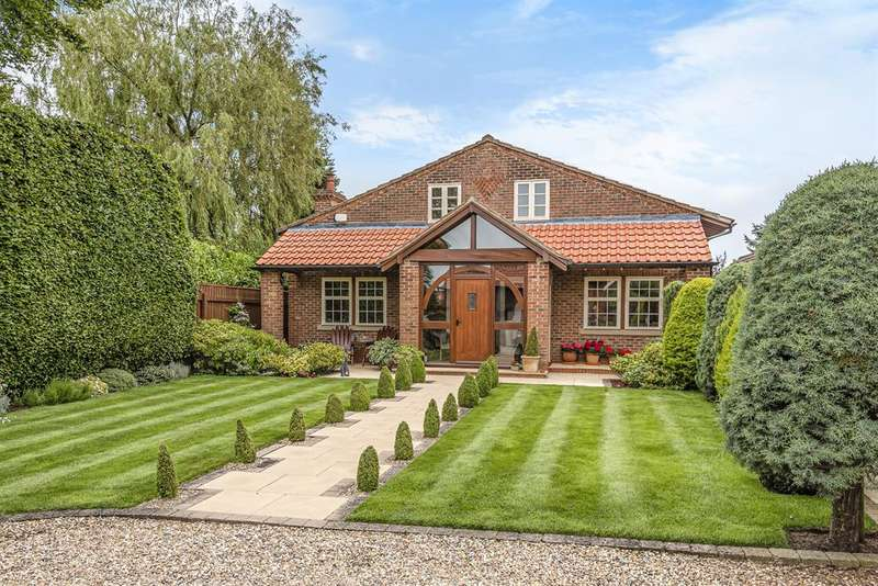 4 Bedrooms Detached House for sale in Church Street, Bainton, East Yorkshire, YO25 9JN