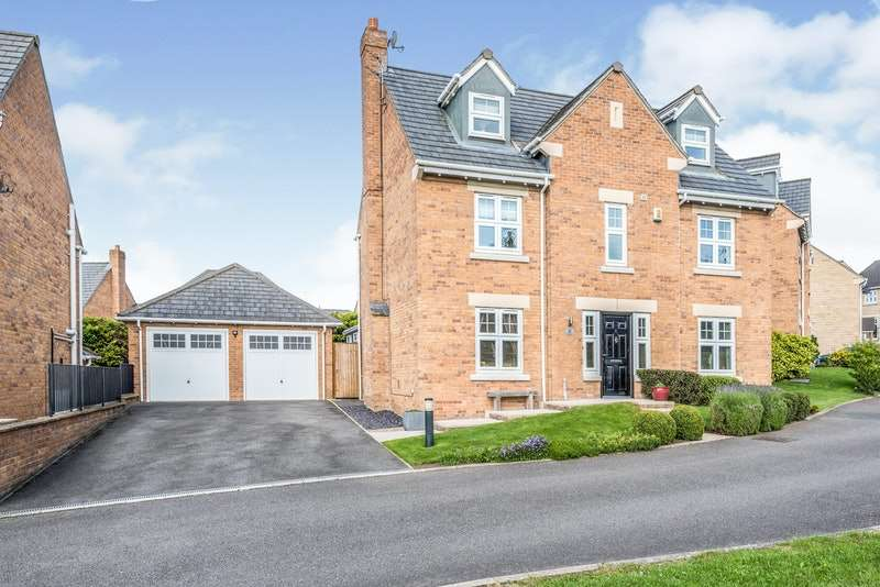 5 Bedrooms Detached House for sale in Gresford Close, Woolley Grange, Barnsley, West Yorkshire, S75