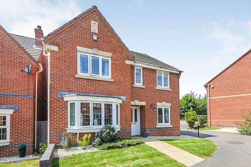 4 Bedrooms Detached House for sale in Queen Victoria Drive, Swadlincote, Derbyshire, DE11