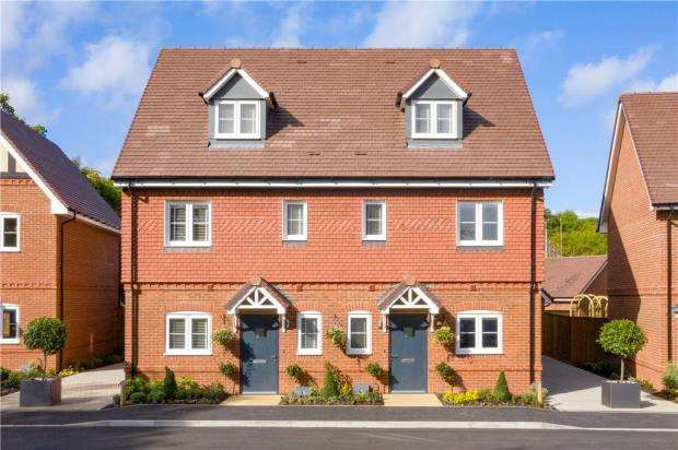 3 Bedrooms End Of Terrace House for sale in Finchwood Park, Finchampstead, Berkshire