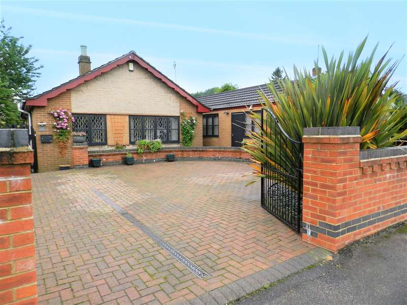 3 Bedrooms Detached Bungalow for sale in Fall Road, Heanor