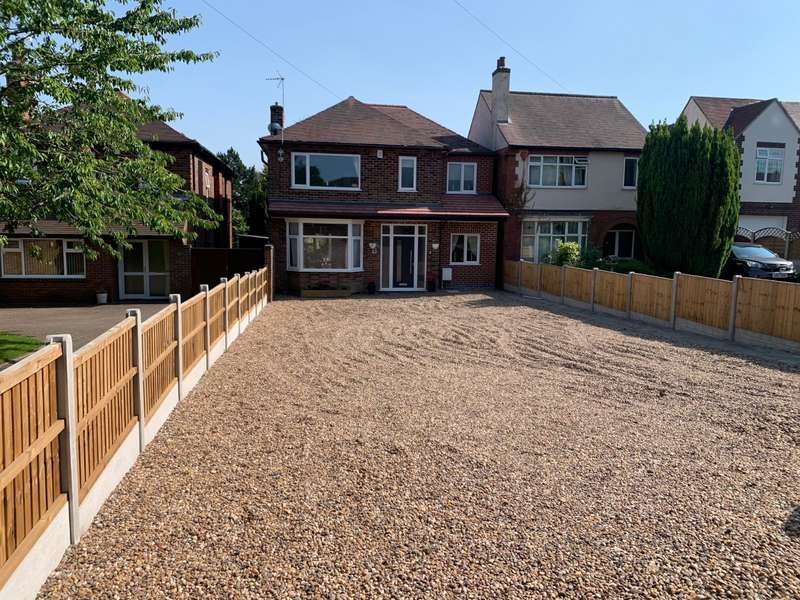 4 Bedrooms Detached House for sale in High Lane West, West Hallam, Ilkeston, Derbyshire, DE7