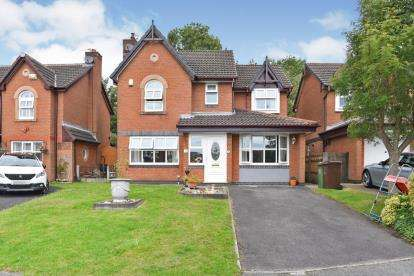 5 Bedrooms Detached House for sale in Winifred Avenue, Fairfield, Bury, Greater Manchester, BL9