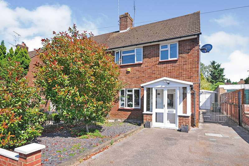 3 Bedrooms Semi Detached House for sale in Beech Avenue, Swanley, Kent, BR8