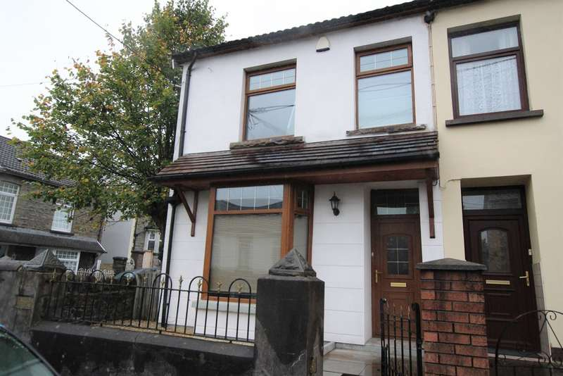3 Bedrooms End Of Terrace House for sale in Bailey Street, Mountain Ash