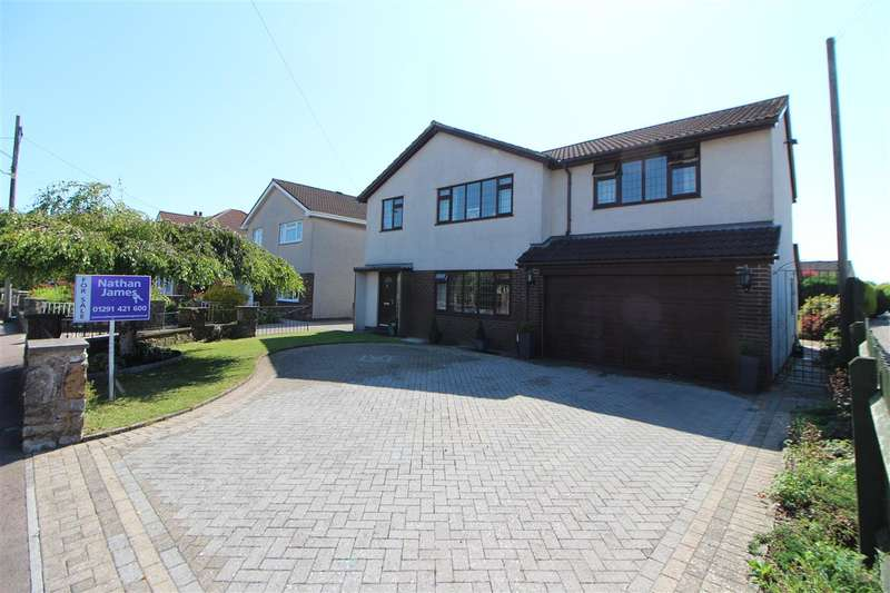 4 Bedrooms Detached House for sale in Church Road, Caldicot