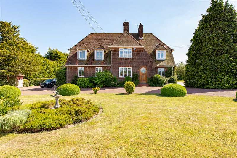 5 Bedrooms Detached House for sale in Hill House, Egg Hill, Charing