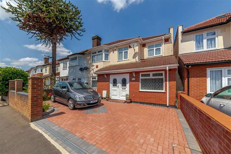 4 Bedrooms Semi Detached House for sale in Lulworth Ave, Osterley, TW5