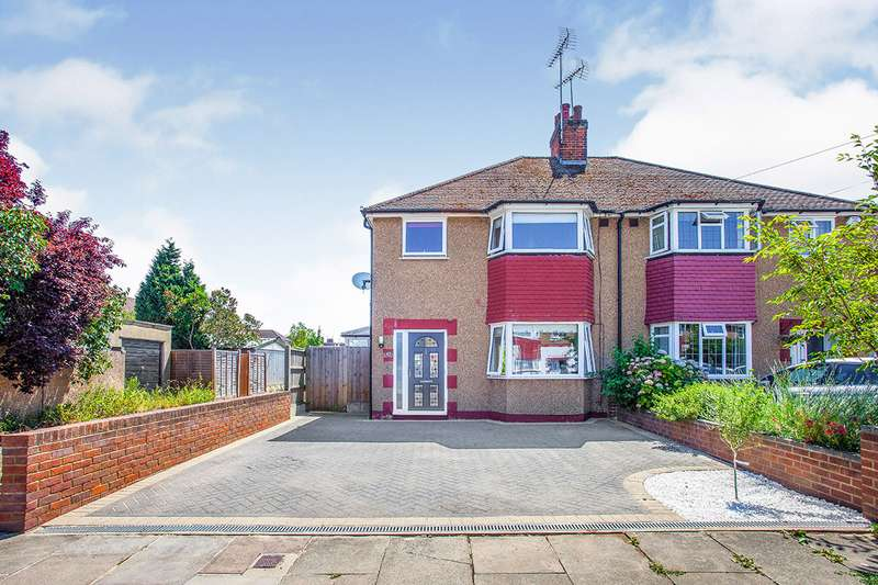 3 Bedrooms Semi Detached House for sale in Hillingdon Road, Watford, Hertfordshire, WD25