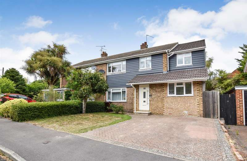 5 Bedrooms Semi Detached House for sale in Unwin Close, Aylesford