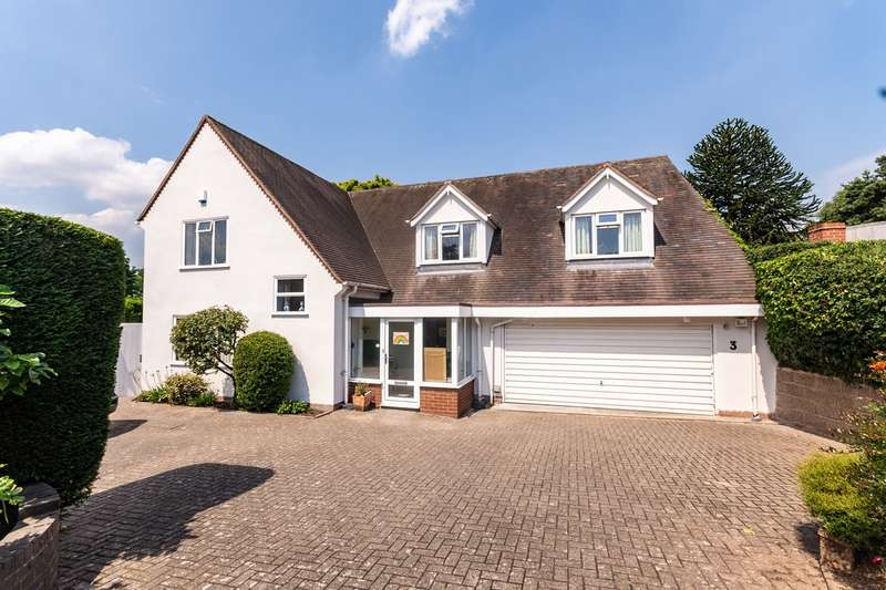 4 Bedrooms Detached House for sale in Nether Beacon, Lichfield, WS13