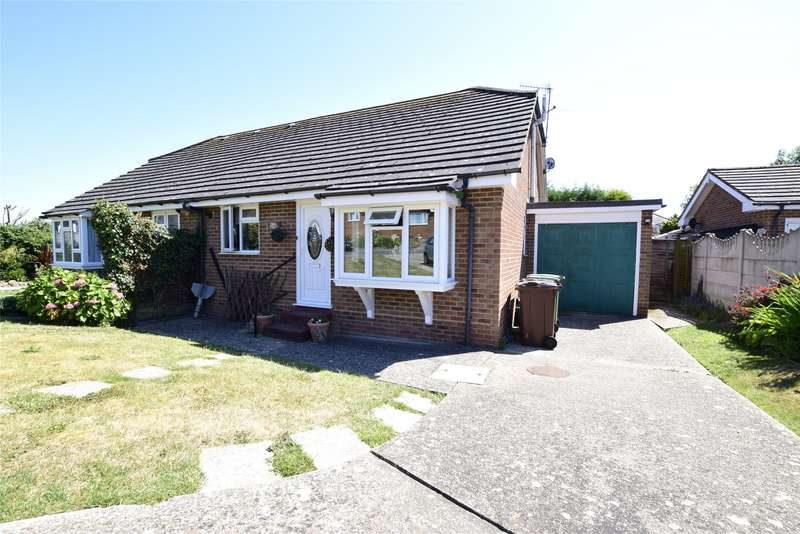 2 Bedrooms Semi Detached Bungalow for sale in Silva Close, Bexhill-On-Sea, East Sussex, TN40