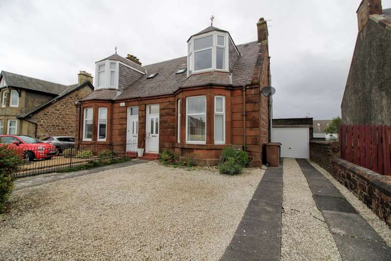 4 Bedrooms Semi Detached House for sale in Grangemuir Road, Prestwick, KA9