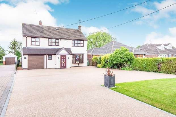 Detached House for sale in Coventry Rd, Bedworth, Warwickshire, CV12 9LZ