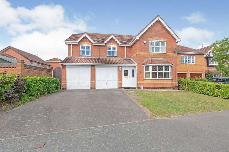 5 Bedrooms Detached House for sale in Northfields Way, East Leake, Loughborough, LE12