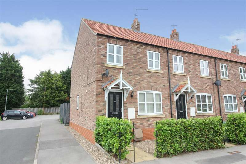 3 Bedrooms End Of Terrace House for sale in Main Road, Skirlaugh, Hull