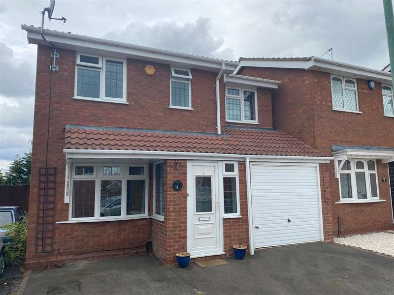 4 Bedrooms Detached House for sale in Suffolk Drive, Brierley Hill, DY5 3QY