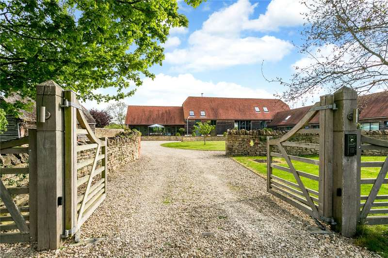 5 Bedrooms Detached House for sale in The Green, Lyford, Oxfordshire, OX12