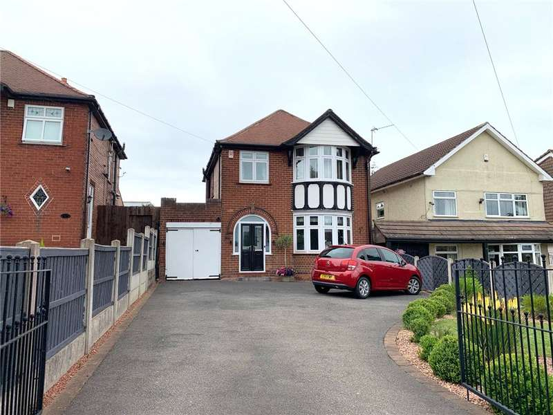3 Bedrooms Detached House for sale in Heanor Road, Heanor, Derbyshire, DE75