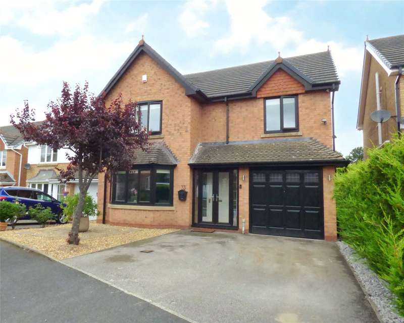 4 Bedrooms Detached House for sale in Wrenbury Drive, Burnedge, Rochdale, OL16