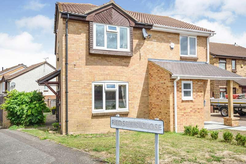 2 Bedrooms Semi Detached House for sale in Redsells Close, Downswood, Maidstone, Kent, ME15