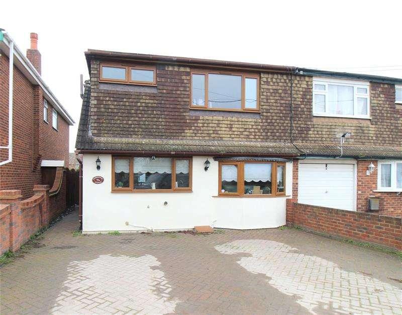 3 Bedrooms Semi Detached House for sale in Windermere Avenue, Hullbridge, Essex, SS5