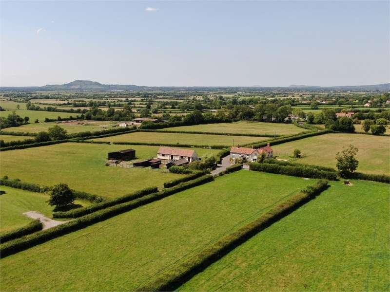 4 Bedrooms Detached House for sale in Brookhouse Farm, CHAPEL ALLERTON, Axbridge, Somerset