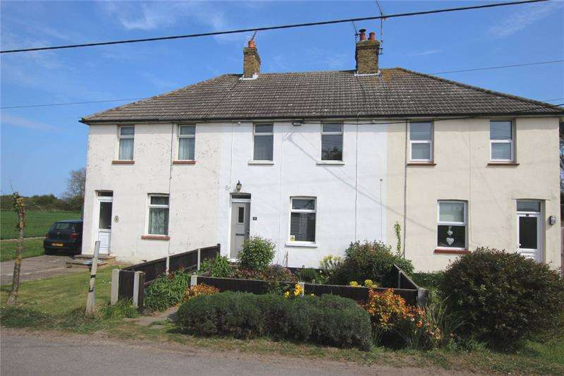 3 Bedrooms Terraced House for sale in Millhead Cottages, The Common, Great Wakering, SS3